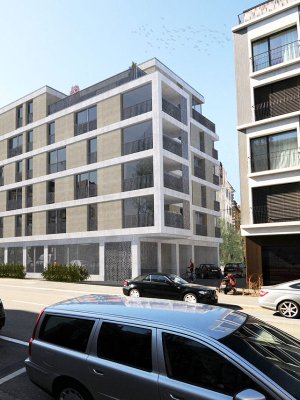 Neubau Mehrfamilienhaus Alfred-Escher-Strasse 70