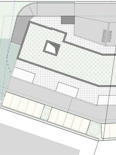 Neubau Gewerbehaus mit Wohnungen