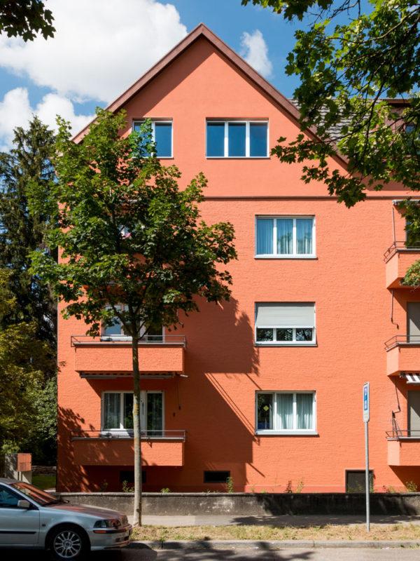 Sanierung und Aufstockung Mehrfamilienhaus