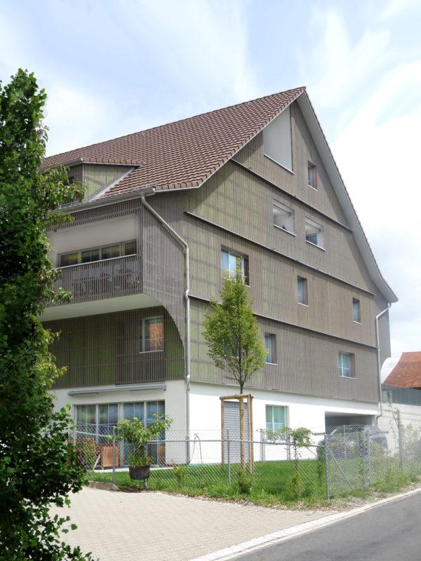 Neubau Mehrfamilienhaus Lendikon